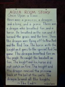 Aqua Room Story