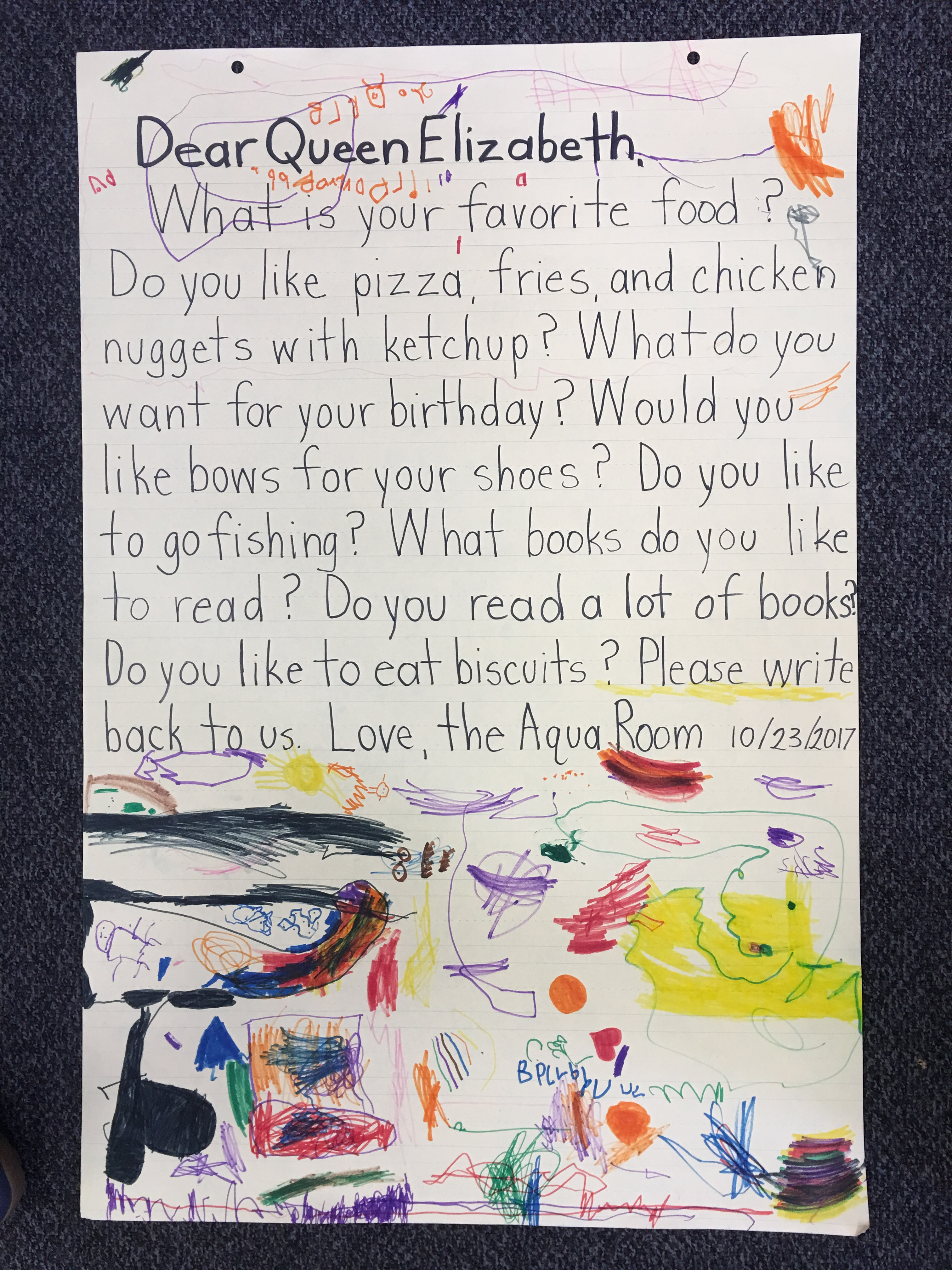 A letter from her majesty the queen a teachers reflections language is the root of learning and it comes alive with writing letters spiritdancerdesigns Image collections