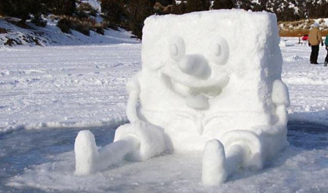 Snow-SpongeBob